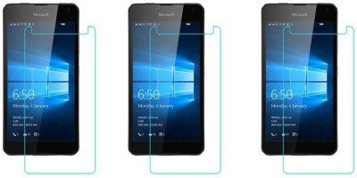 ACM Tempered Glass Guard for Microsoft Lumia 650 Dual Sim(Pack of 3)