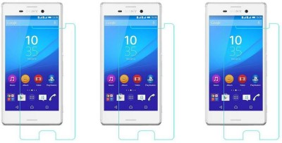 ACM Tempered Glass Guard for Sony Xperia M4 Aqua Dual(Pack of 3)