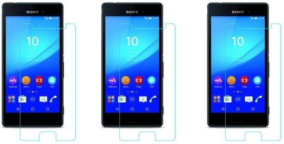 Elate Tempered Glass Guard for Sony Xperia M5(Pack of 3)