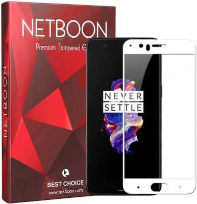 Netboon Tempered Glass Guard for OnePlus 5(Pack of 1)