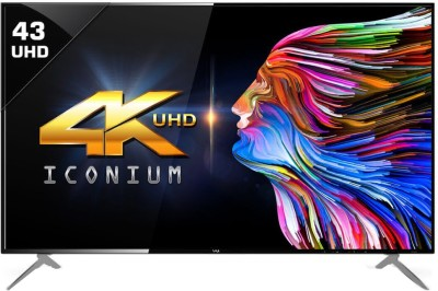 Vu 109cm (43 inch) Ultra HD (4K) LED Smart TV(43BU113)