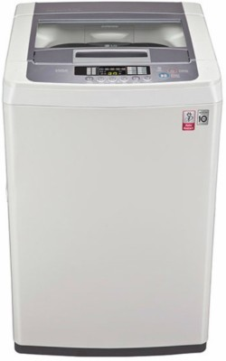 17 off on lg 6 5 kg fully automatic top load washing machine white t7569nddl on flipkart. Black Bedroom Furniture Sets. Home Design Ideas