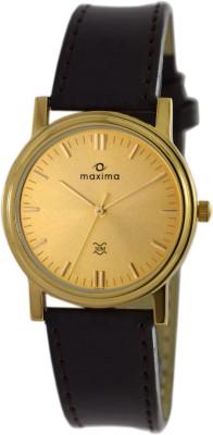 Maxima 05181LMGY  Analog Watch For Unisex