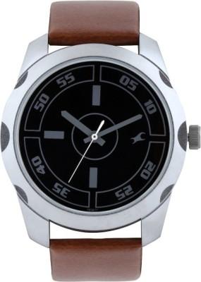 Fastrack 3123SL03 Bare Basics Analog Men's Watch (3123SL03)