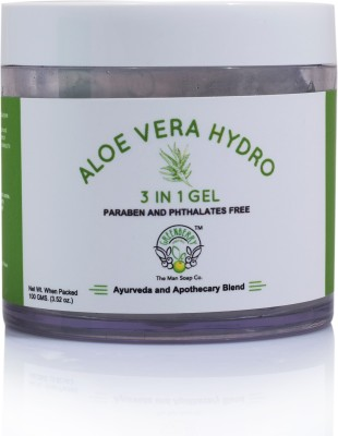 Greenberry Organics 3 In 1 Miracle Aloe Vera Gel For Face, Body and Hair(100 g)