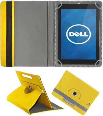 Fastway Book Cover for Dell Venue 8 16GB(Yellow, Cases with Holder)
