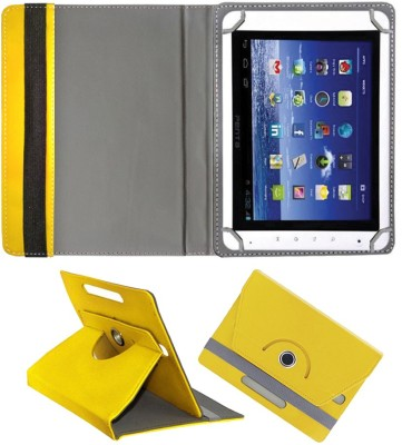 Fastway Book Cover for Bsnl Penta ws802C(Yellow, Cases with Holder)