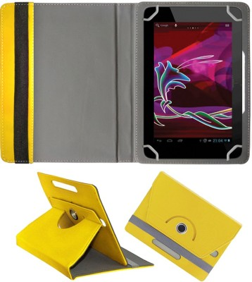 Fastway Book Cover for Digiflip Pro Xt811(Yellow, Cases with Holder)