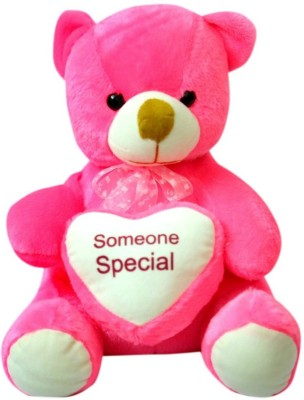 Kidz Zone Dark Pink Someone Special Soft Teddy Bear  - 25 cm(Pink)  available at flipkart for Rs.325