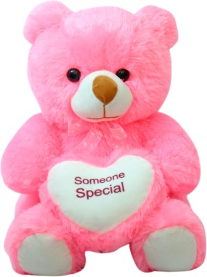 Kidz Zone Pink Someone Special Soft Teddy Bear  - 25 cm(Pink)  available at flipkart for Rs.349