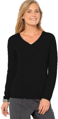 Kotty Solid V-neck Casual Women