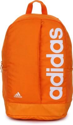 Adidas Lin Per Bp 22 L Backpack(Orange)  available at flipkart for Rs.1439