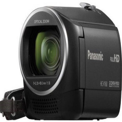 Panasonic V160 (Black) with 2 pcs 8gb memory card & carry bag video Camera Camcorder Camera(Black)