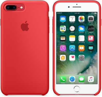 Your Deal Back Cover for Apple iPhone 7 Plus(Red, Silicon)