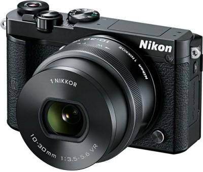 View Nikon Nikon 1 J5 With 10-30mm Mirrorless Camera Body with 10-30 mm lens(Black) Price Online(Nikon)