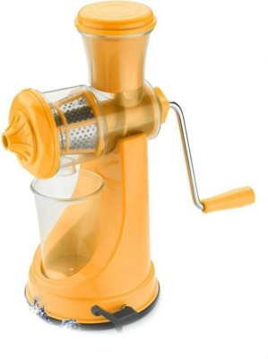 Shrih Portable Stainless Steel, Plastic Hand Juicer(Yellow Pack of 1) at flipkart