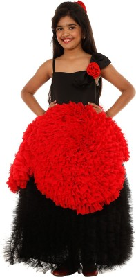 SOFYANA Ball Gown(Multicolor) at flipkart