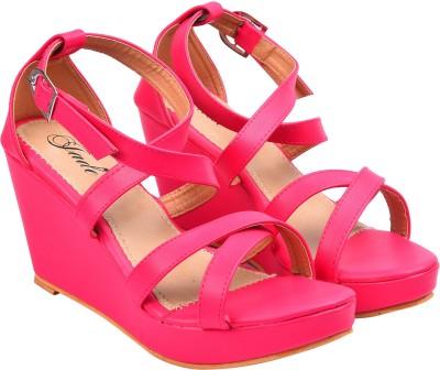Jade Women Pink Wedges