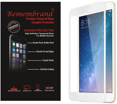 Remembrand Tempered Glass Guard for Mi Mi Max 2, Mi Max 2