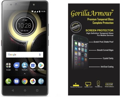 Gorilla Armour Tempered Glass Guard for Lenovo K8 Note(Pack of 1)