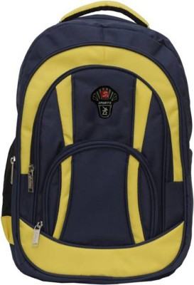 Ambition classic 28 L Backpack(Blue, Yellow) at flipkart