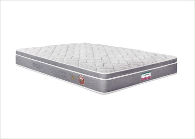 Hypnos Comfort Pocketed Euro Top 6 inch Queen PU Foam Mattress(Pocket Spring) at flipkart