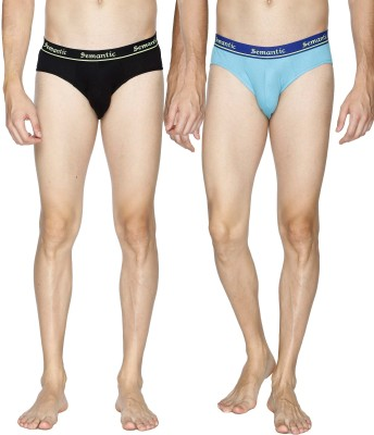 Semantic Men's Brief(Pack of 2)