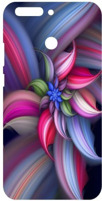 Wellcase Back Cover for Honor 8 Pro(Multicolor, Rubber, Plastic)