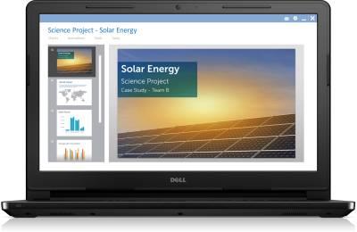Dell Inspiron 3552 (A565503UIN9) Laptop(15.6 inch|Pentium Quad Core|4 GB|Linux|500 GB) Image
