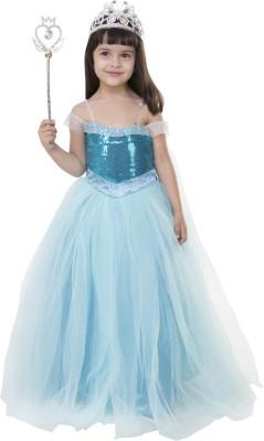 fea0c607d6c1 Buy Samsara couture Ball Gown(Light Blue) on Flipkart