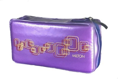 Milton MINI LUNCH.STEEL CONTENER 2 Containers Lunch Box(200 ml) at flipkart