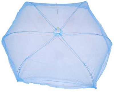 BcH Polyester Infants Baby Mosquito Net Mosquito Net(Blue)