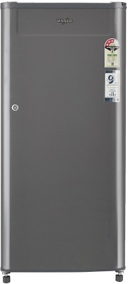 Whirlpool 190 L Direct Cool Single Door 3 Star Refrigerator Solid Grey, 205 GENIUS CLS PLUS 3S  Whirlpool Refrigerators