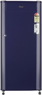 Whirlpool 190 L Direct Cool Single Door 3 Star Refrigerator(Blue, 205 GENIUS CLS PLUS 3S)