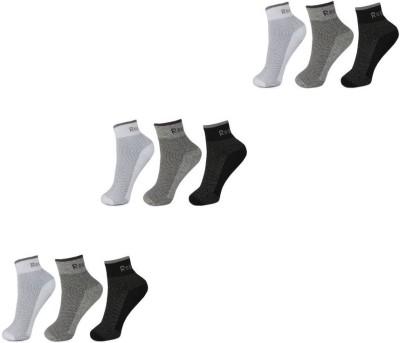 REEBOK Men's & Women's Ankle Length Socks(Pack of 3)