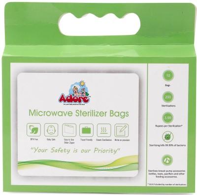 Adore Sterilizer Bag- 10pcs - 6 Slots(Green)