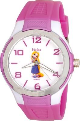 Vizion V-8826-5-1  Analog Watch For Girls