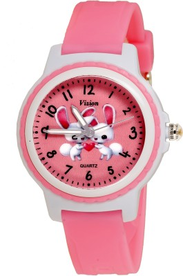 Vizion V-8829-5-2  Analog Watch For Girls
