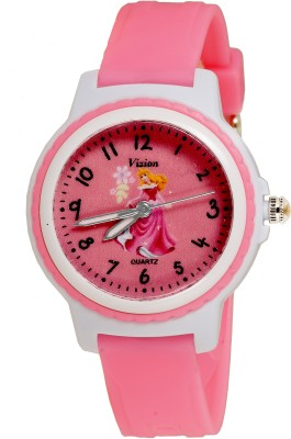 Vizion V-8829-5-3  Analog Watch For Girls
