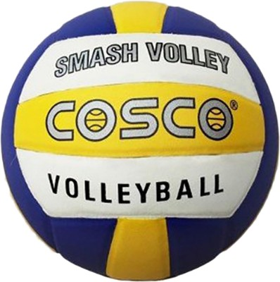 COSCO Smash Volley Volleyball   Size: 4 Pack of 1, Blue, Yellow COSCO Volleyballs