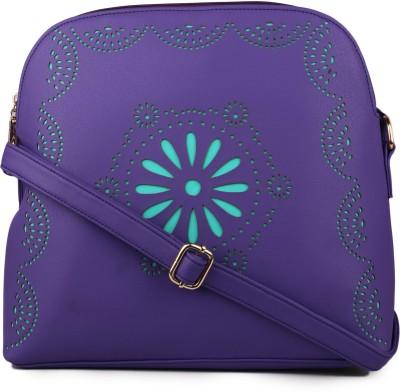 Women Marks Sling Bag(Purple) at flipkart