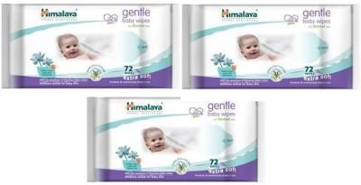 Himalaya Gentle Baby Wipes(White)
