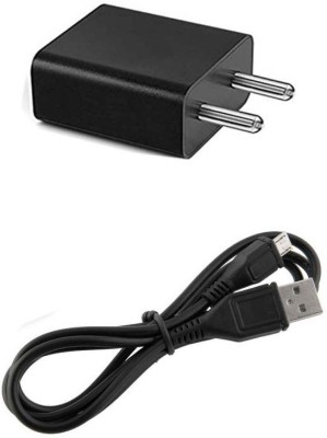 TROST 2A Black Wall Charger 1 A Mobile Charger with Detachable Cable Black TROST Wall Chargers