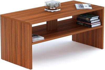 Bluewud Oliver Engineered Wood Coffee Table(Finish Color - walnut)