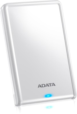 Adata HV620 2.5 inch 1 TB External Hard Drive(White) at flipkart