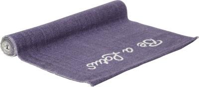 Arka4U ANTI SKID Cotton Purple 4 mm Yoga Mat