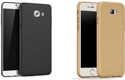 Spicesun Back Cover for Samsung Galaxy J7 Prime(Gold, Black)