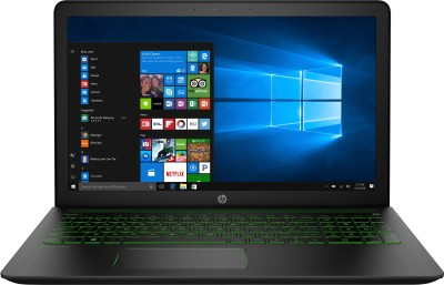 HP Pavilion Power Core i7 7th Gen - (8 GB/1 TB HDD/128 GB SSD/Windows 10 Home/4 GB Graphics) 15-cb052TX Gaming Laptop(15.6 inch, SHadow Black, 2.27 kg)