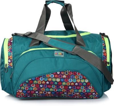 651541663b 30% OFF on Bendly Round Gym 17 inch 43 cm Travel Duffel Bag(Blue) on ...