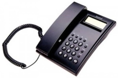 Beetel BT-C51 Corded Landline Phone(Black)  available at flipkart for Rs.645